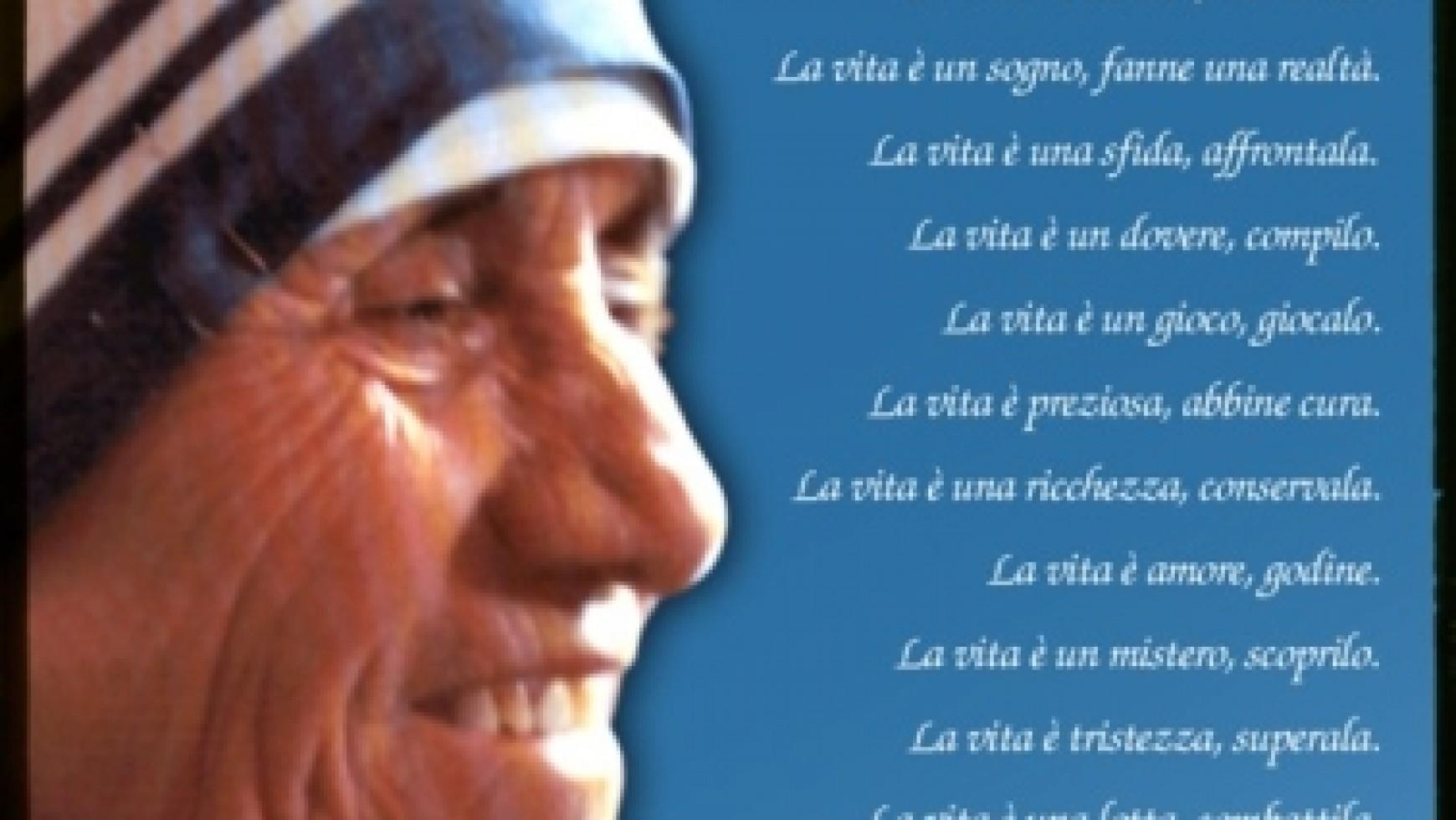 Madre Teresa: Una Donna di Cuore!