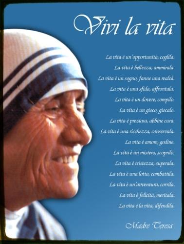 Favoloso Madre Teresa: Una Donna di Cuore! | Roberto Di Stefano – Infinity  QR77